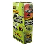 Good Times Flat Wrap SOUR APPLE 25-2'S - 50 WRAPS
