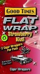 Good Times Flat Wrap STRAWBERRY KIWI 25-2'S 50 WRAPS