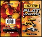 Good Times Flat Wrap PEACH 25-2'S 50 WRAPS