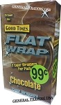Good Times Flat Wrap CHOCOLATE 25-2'S 50 WRAPS