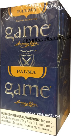 Game Palma Blue 25 Cigars