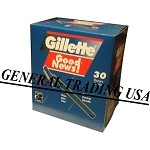 GILLETTE GOOD NEWS SHAVING BLADES 30 COUN