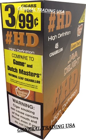 #HD High Definition Java Delight 45 Cigarillos