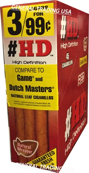 HD High Definition Red 45 Cigarillos