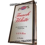 JOB FRENCH WHITE CIGARETTE PAPERS 1 1/14 24 BOOKLETS