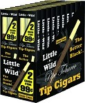 LITTLE & WILD PLASTIC TIP REGULAR 40 CIGARS