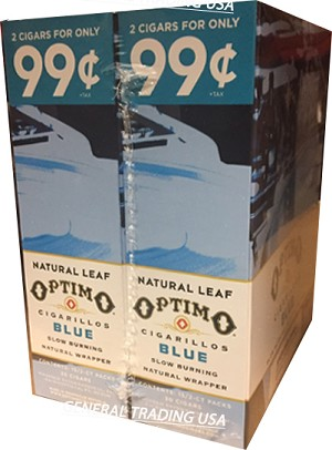 OPTIMO CIGARILLOS BLUE 2 for 99 60 CIGARS