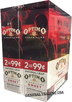 OPTIMO CIGARILLOS SWEET 60 CIGARS