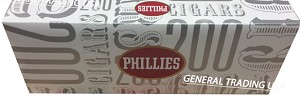 PHILLIES FILTERED CIGAR 10-20 PACK 200 CIGARS
