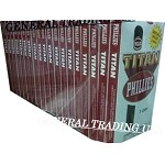 PHILLIES TITAN CIGARS 100 COUNT 6.25 x 44