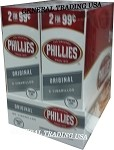 PHILLIES ORIGINAL CIGARILLOS 2 FOR $0.99 CIGARS 60 COUNT