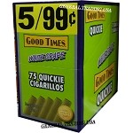 Good Times Quickie White Grape 75 Cigarillos