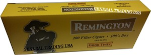 Remington Vanilla Filtered Cigars