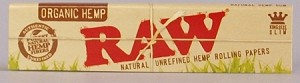RAW NATURAL UNREFINED ORGANIC HEMP ROLLING PAPERS 1 1/4