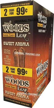 Sweet Woods Leaf Sweet Aroma Natural Wrapper