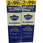 Swisher Sweets BlueBerry Cigarillos 60 Cigars