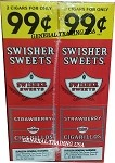 Swisher Sweets Strawberry Cigarillos 60 Cigars