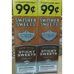 Swisher Sweets STICKY SWEETS Cigarillos 60 CIGARS