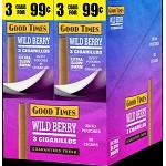 GOOD TIMES WILD BERRY CIGARILLOS 90 CIGARS