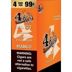 4K's Mango Cigarillos 4 For $0.99 60 Cigars
