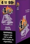 4K's Napa Grape Cigarillos 4 For $0.99 60 Cigars
