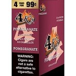 4K's Pomegranate Cigarillos 4 For $0.99 60 Cigars