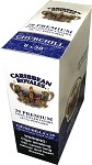 Caribbean Royales Churchill Premium Long Filler Hand Rolled Cigars 6 x 50
