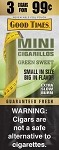 Good Times Mini Green Sweet 45 Cigarillos