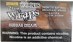 Sweet Woods Russian Cream Wraps 50 count