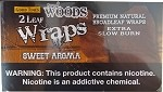 Sweet Woods Sweet Aroma Wraps 50 count