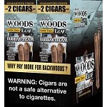 Sweet Woods Leaf Russian Cream Double Pack 30-2's 60 Cigars