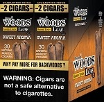 Sweet Woods Leaf Sweet Aroma Double Pack 30-2's 60 Cigars