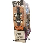 SHOW BK NATURAL LEAF CIGAR 30 CIGARS
