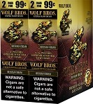 Wolf Brothers Sweet - Russian Cream Natural Leaf Wrapper Cigars 120 Cigars