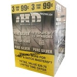 HD HIGH DEFINITION PURE SILVER 90 CIGARS