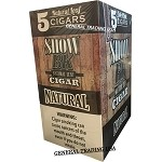 SHOW BK NATURAL LEAF CIGAR 40 CIGARS