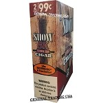 SHOW BK NATURAL LEAF SWEET CIGAR 30 CIGARS