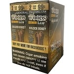 Sweet Woods Leaf Golden Honey Double Pack 30-2's 60 Cigars