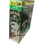 ZIG ZAG MANGO CIGARILLOS 3 FOR $0.99 45 CIGARS
