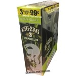 ZIG ZAG WHITE GRAPE CIGARILLOS 3 FOR $0.99 45 CIGARS