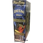 ZIG ZAG BLUEBERRY PREMIUM WRAP 25 PACK
