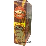 ZIG ZAG ORANGE PREMIUM WRAP 25 PACK