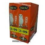White Owl Cigarillos PEACH 2 for 99 60 Count