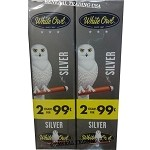 White Owl Cigarillos SILVER 2 for 99 60 Count