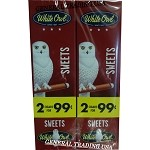 White Owl Cigarillos SWEET 2 for 99 60 Count
