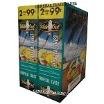 White Owl Cigarillos TROPICAL TWIST 2 for 99 60 Count