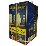 White Owl Cigarillos VANILLA 2 for 99 60 Count